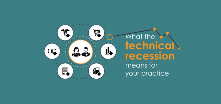 What the technical recession means for your medical practice