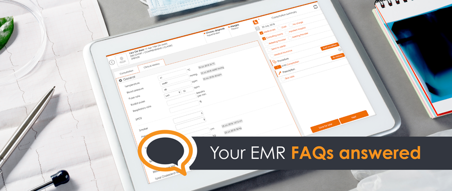 [FAQ] Doctors' most frequently asked EMR questions answered