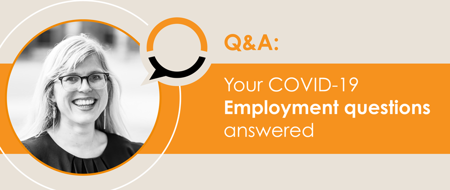 Q&A: COVID-19 and employment at your practice