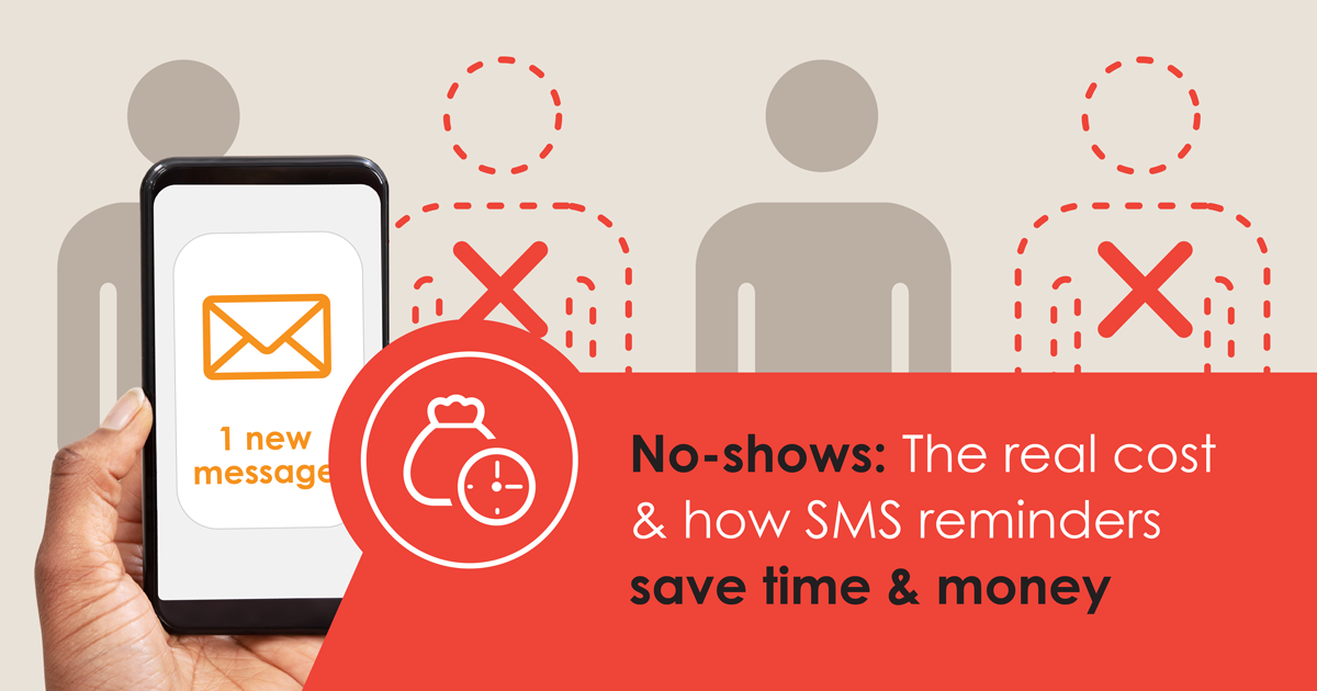 No-shows: The real cost & how SMS reminders save time & money