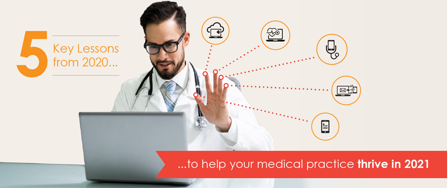 5 Key Lessons from 2020 to help your medical practice thrive in 2021