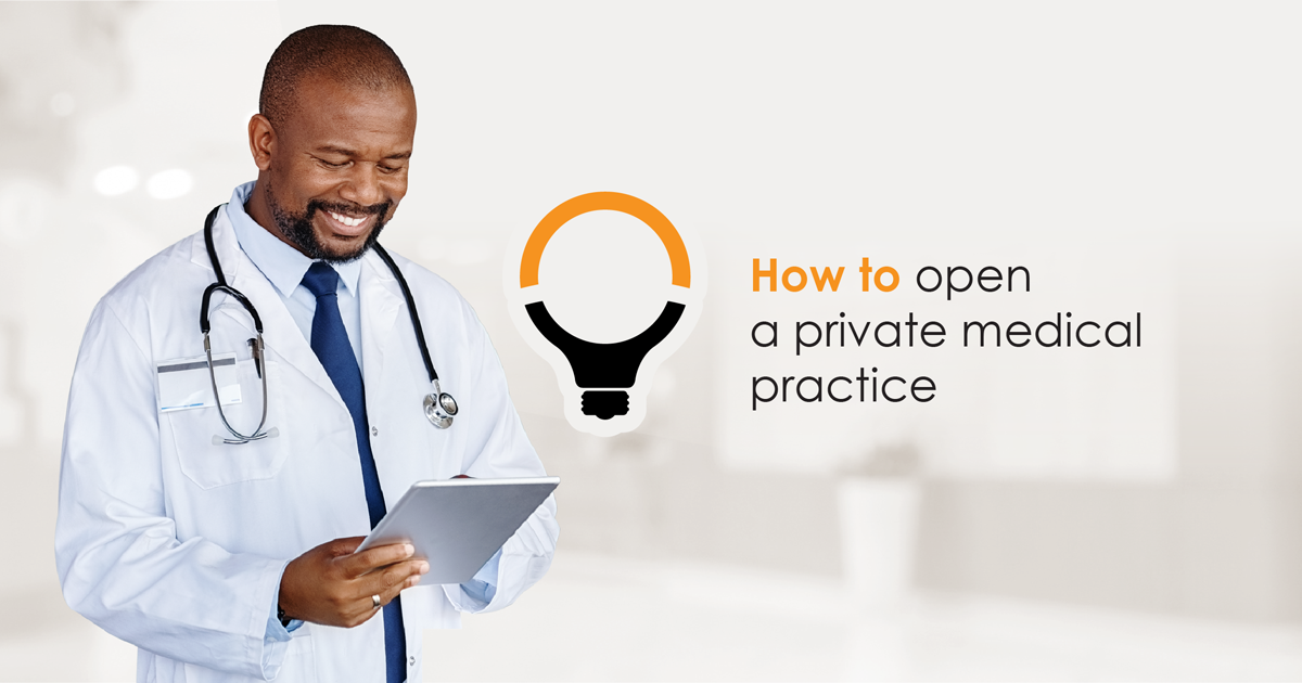 Opening a medical practice