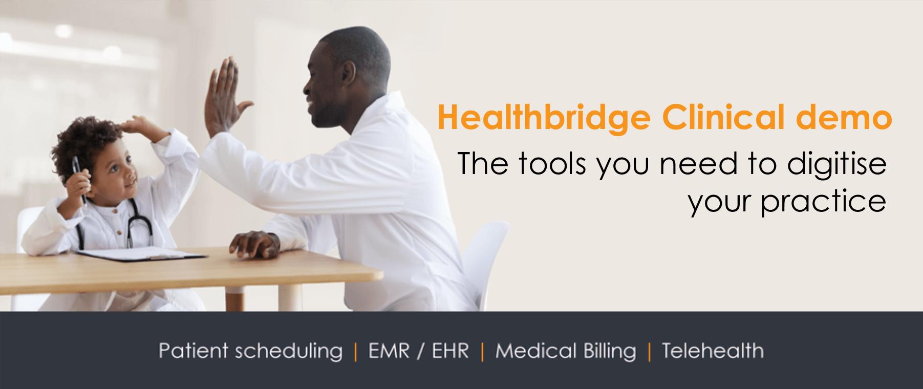 Healthbridge Clinical demo: Electronic Medical Record (EMR)